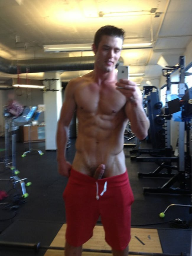 Nice Boy In The Gym