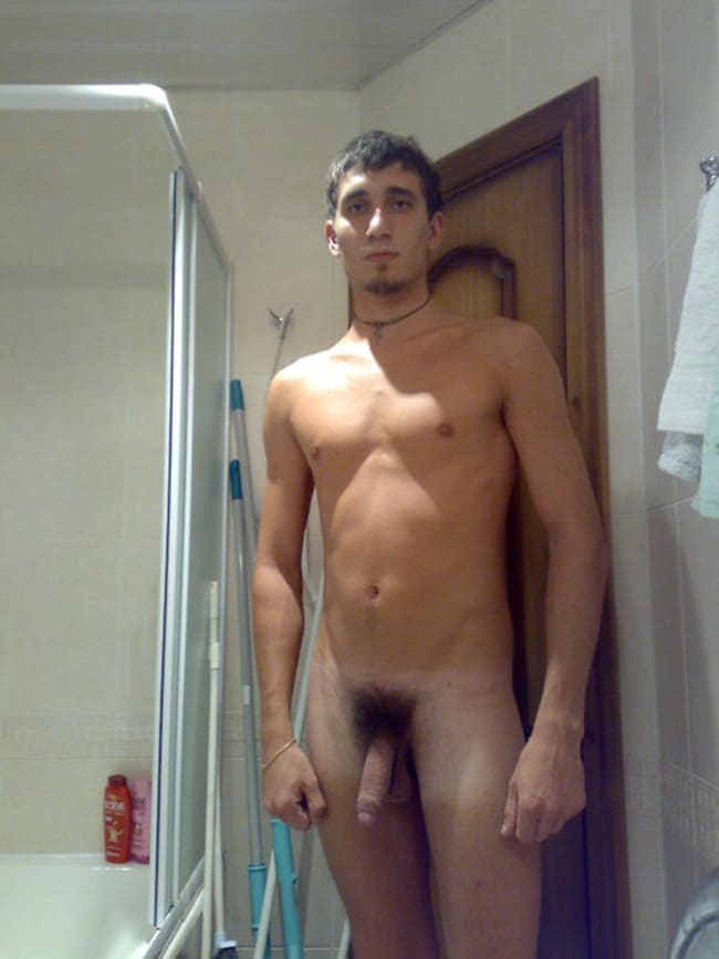 Sexy Guy WIth A Hairy Dick